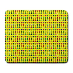 Multi Col Pills Pattern Large Mousepads by ScienceGeek