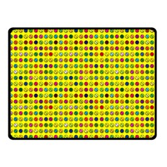 Multi Col Pills Pattern Fleece Blanket (Small) by ScienceGeek