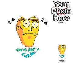 Show Me What You Got New Fresh Playing Cards 54 (heart)