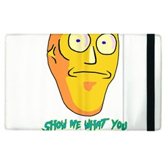 Show Me What You Got New Fresh Apple Ipad 3/4 Flip Case by kramcox