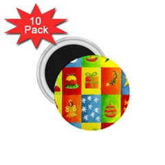 Christmas Things 1 75  Magnets (10 Pack)  by julienicholls