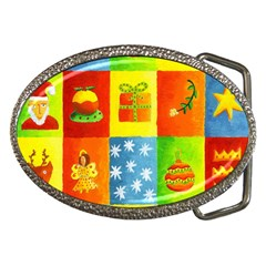 Christmas Things Belt Buckles by julienicholls