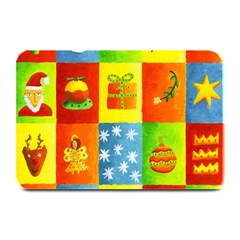 Christmas Things Plate Mats by julienicholls