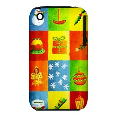 Christmas Things Apple Iphone 3g/3gs Hardshell Case (pc+silicone) by julienicholls