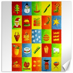 25 Xmas Things Canvas 16  X 16   by julienicholls