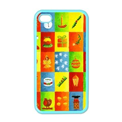 25 Xmas Things Apple Iphone 4 Case (color) by julienicholls
