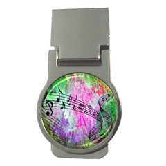 Abstract Music 2 Money Clips (round)