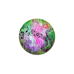 Abstract Music 2 Golf Ball Marker (10 Pack)