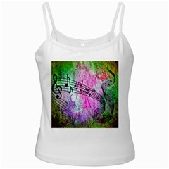 Abstract Music 2 Ladies Camisoles