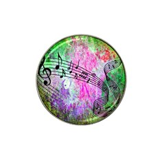 Abstract Music 2 Hat Clip Ball Marker (4 Pack)