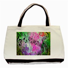 Abstract Music 2 Basic Tote Bag (two Sides)