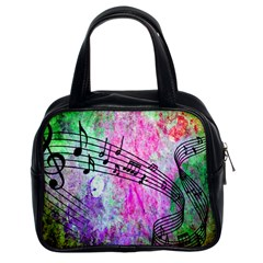 Abstract Music 2 Classic Handbags (2 Sides)