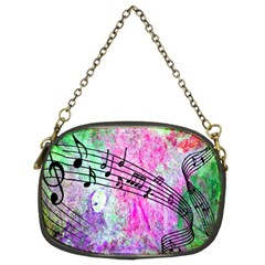 Abstract Music 2 Chain Purses (two Sides)