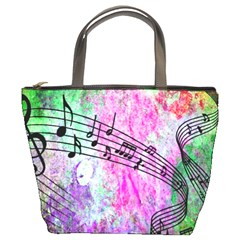 Abstract Music 2 Bucket Bags