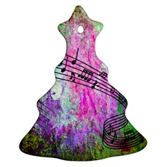 Abstract Music 2 Ornament (christmas Tree) by ImpressiveMoments