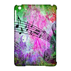 Abstract Music 2 Apple Ipad Mini Hardshell Case (compatible With Smart Cover)