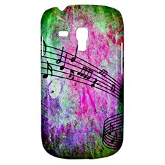 Abstract Music 2 Samsung Galaxy S3 Mini I8190 Hardshell Case