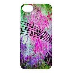 Abstract Music 2 Apple Iphone 5s Hardshell Case