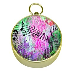 Abstract Music 2 Gold Compasses