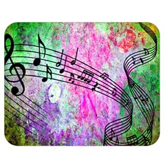 Abstract Music 2 Double Sided Flano Blanket (medium)