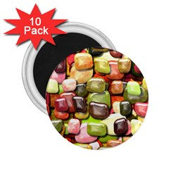 Stones 001 2 25  Magnets (10 Pack)