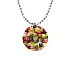 Stones 001 Button Necklaces