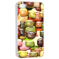 Stones 001 Apple Iphone 4/4s Seamless Case (white)