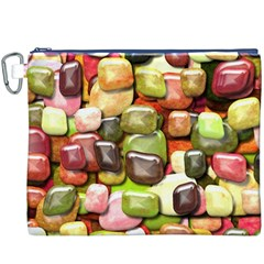 Stones 001 Canvas Cosmetic Bag (XXXL)  by ImpressiveMoments