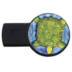 Turtle USB Flash Drive Round (2 GB)  by julienicholls