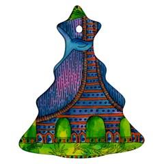 Patterned Rhino Christmas Tree Ornament (2 Sides) by julienicholls