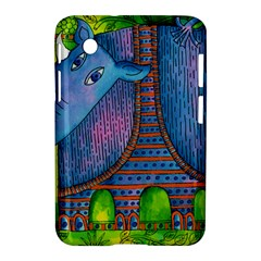 Patterned Rhino Samsung Galaxy Tab 2 (7 ) P3100 Hardshell Case  by julienicholls