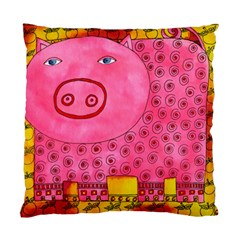 Patterned Pig Standard Cushion Cases (two Sides)  by julienicholls