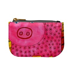 Patterned Pig Mini Coin Purses by julienicholls
