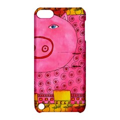 Patterned Pig Apple Ipod Touch 5 Hardshell Case With Stand by julienicholls