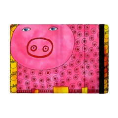 Patterned Pig Ipad Mini 2 Flip Cases
