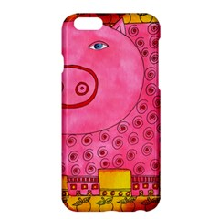 Patterned Pig Apple Iphone 6 Plus Hardshell Case by julienicholls