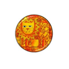 Patterned Lion Hat Clip Ball Marker (4 pack) by julienicholls