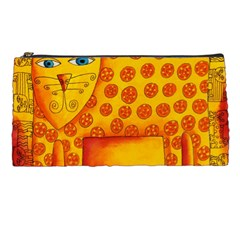 Patterned Leopard Pencil Cases by julienicholls