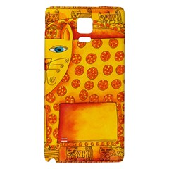 Patterned Leopard Galaxy Note 4 Back Case