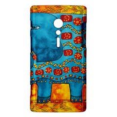 Patterned Elephant Sony Xperia ion by julienicholls