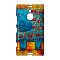 Patterned Elephant Nokia Lumia 1520 by julienicholls