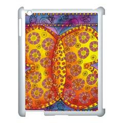 Patterned Butterfly Apple Ipad 3/4 Case (white) by julienicholls