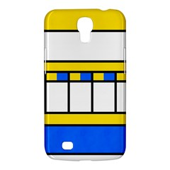 Shapes In Retro Colors Samsung Galaxy Mega 6 3  I9200 Hardshell Case by LalyLauraFLM