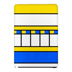Stripes And Squaressamsung Galaxy Tab Pro 10 1 Hardshell Case by LalyLauraFLM
