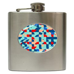 Miscellaneous Shapes Hip Flask (6 Oz) by LalyLauraFLM