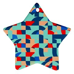 Miscellaneous Shapes Star Ornament (two Sides) by LalyLauraFLM