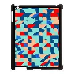 Miscellaneous Shapes Apple Ipad 3/4 Case (black) by LalyLauraFLM