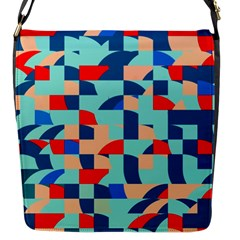Miscellaneous Shapes Flap Closure Messenger Bag (s) by LalyLauraFLM