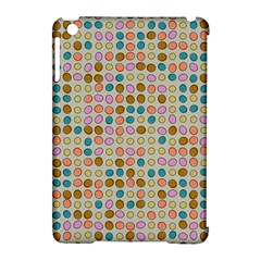 Retro Dots Pattern Apple Ipad Mini Hardshell Case (compatible With Smart Cover) by LalyLauraFLM