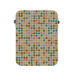 Retro Dots Pattern Apple Ipad 2/3/4 Protective Soft Case by LalyLauraFLM